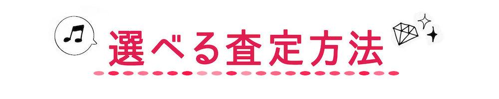 選べる選定方法ロゴ