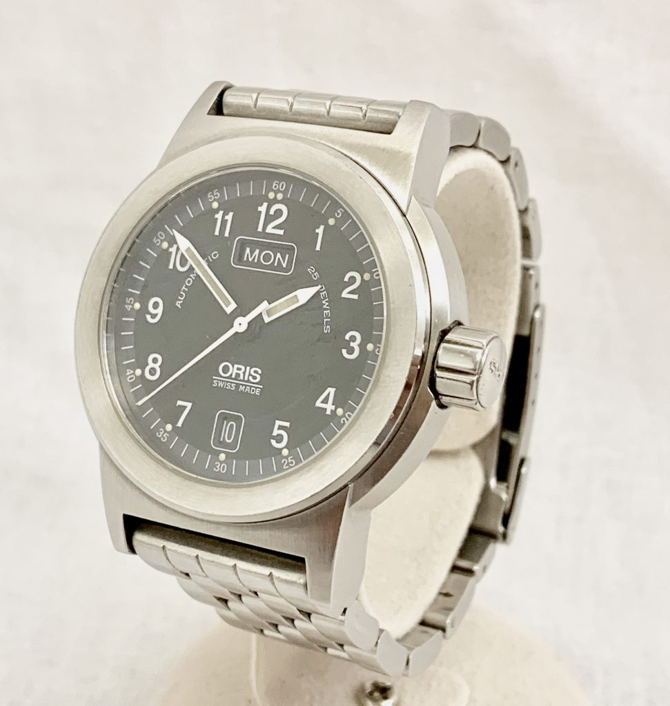 オリス 腕時計 ビッグクラウン デイデイト 7500